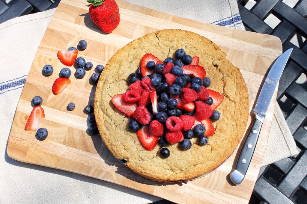 Berry Cake Gluten Free