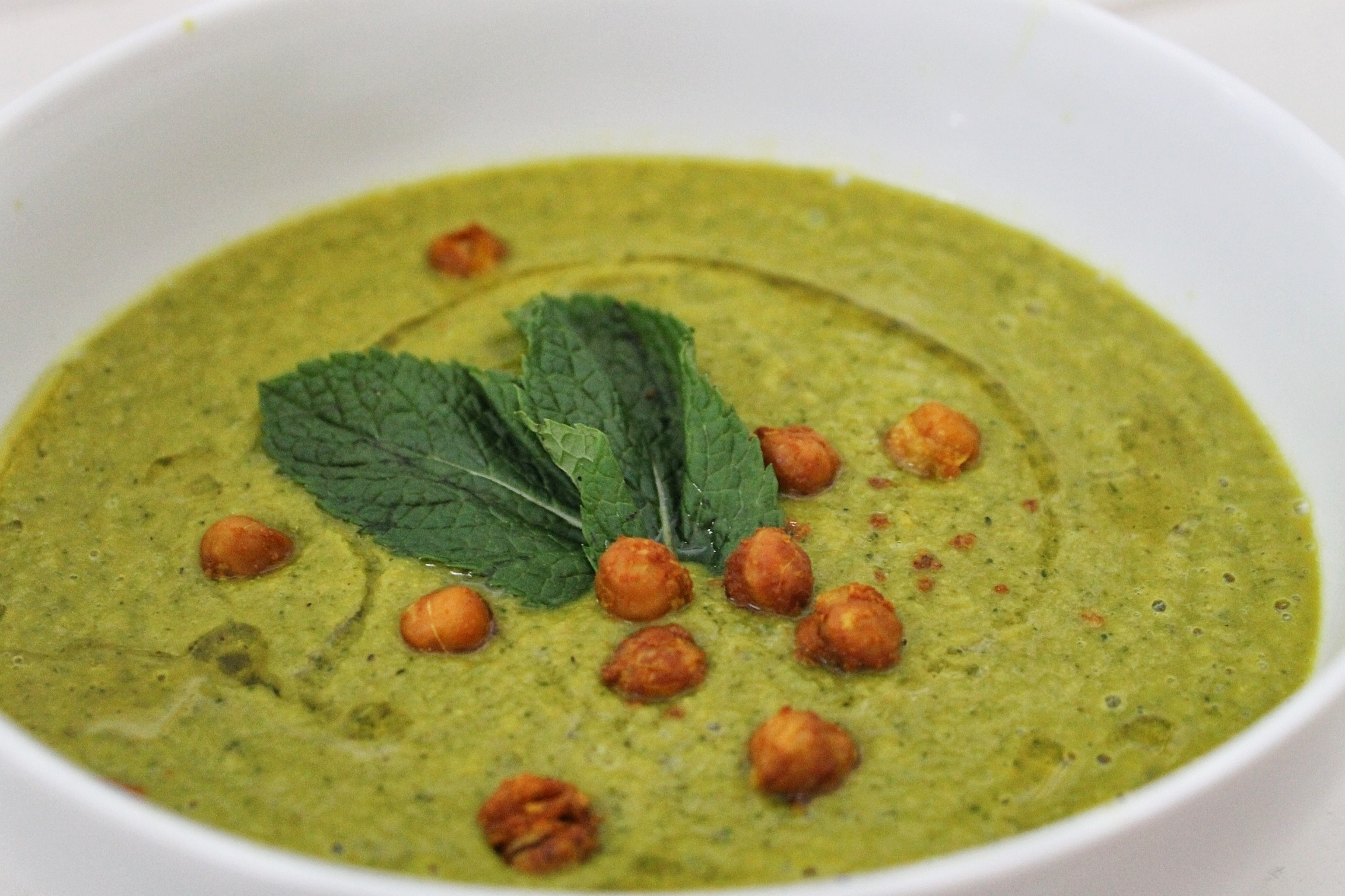 spinach and chickpea soup chickpea soup with crispy kale chickpea ...