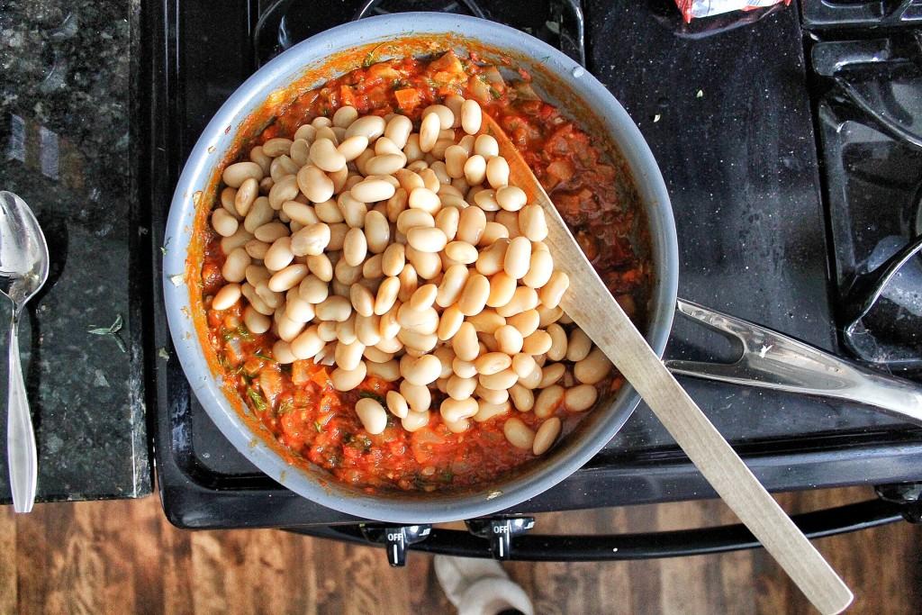 Greek Lima Beans