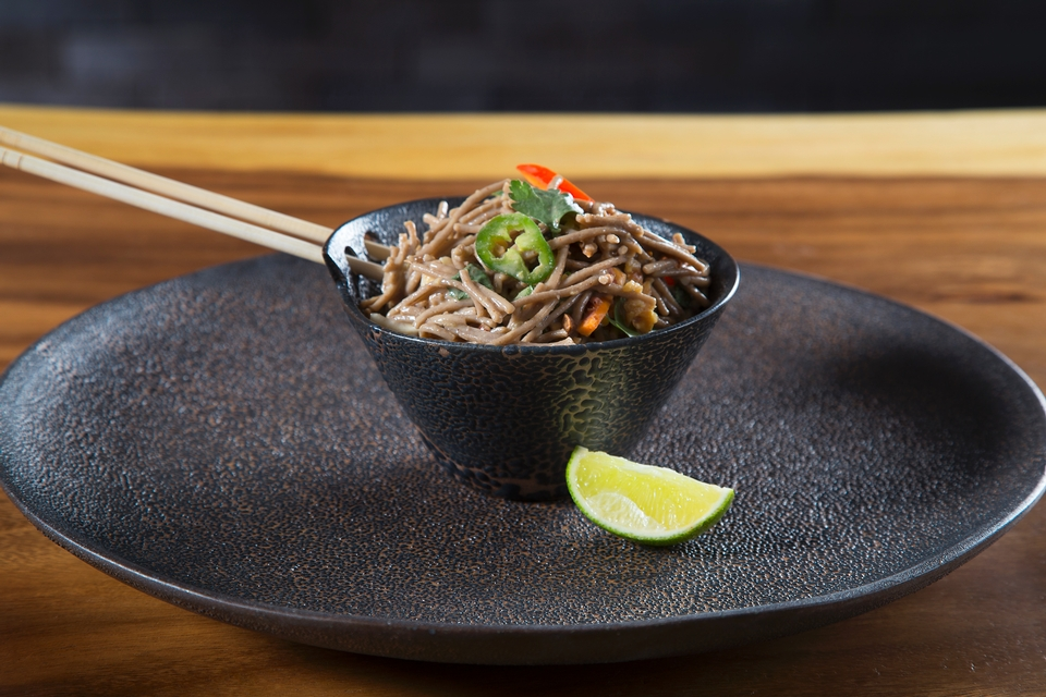 Thai Buckwheat Noodle Salad