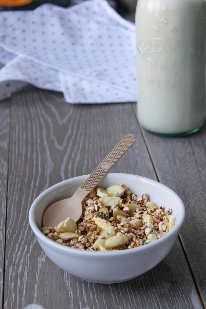 Homemade Healthy Cereal