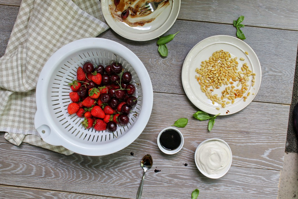 Summer Fruit and Cashew Cream