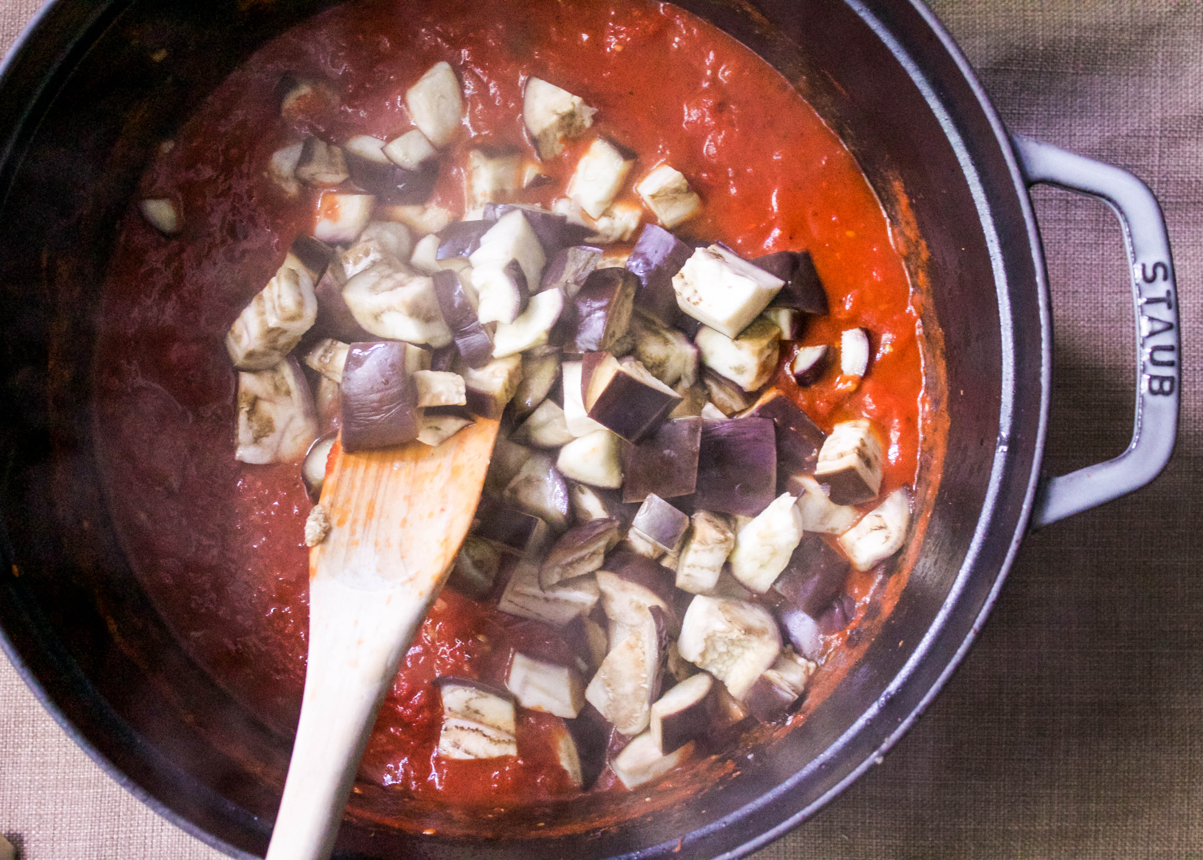Eggplant Marinara