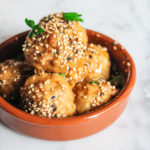 Baked Asian Chicken Meatballs