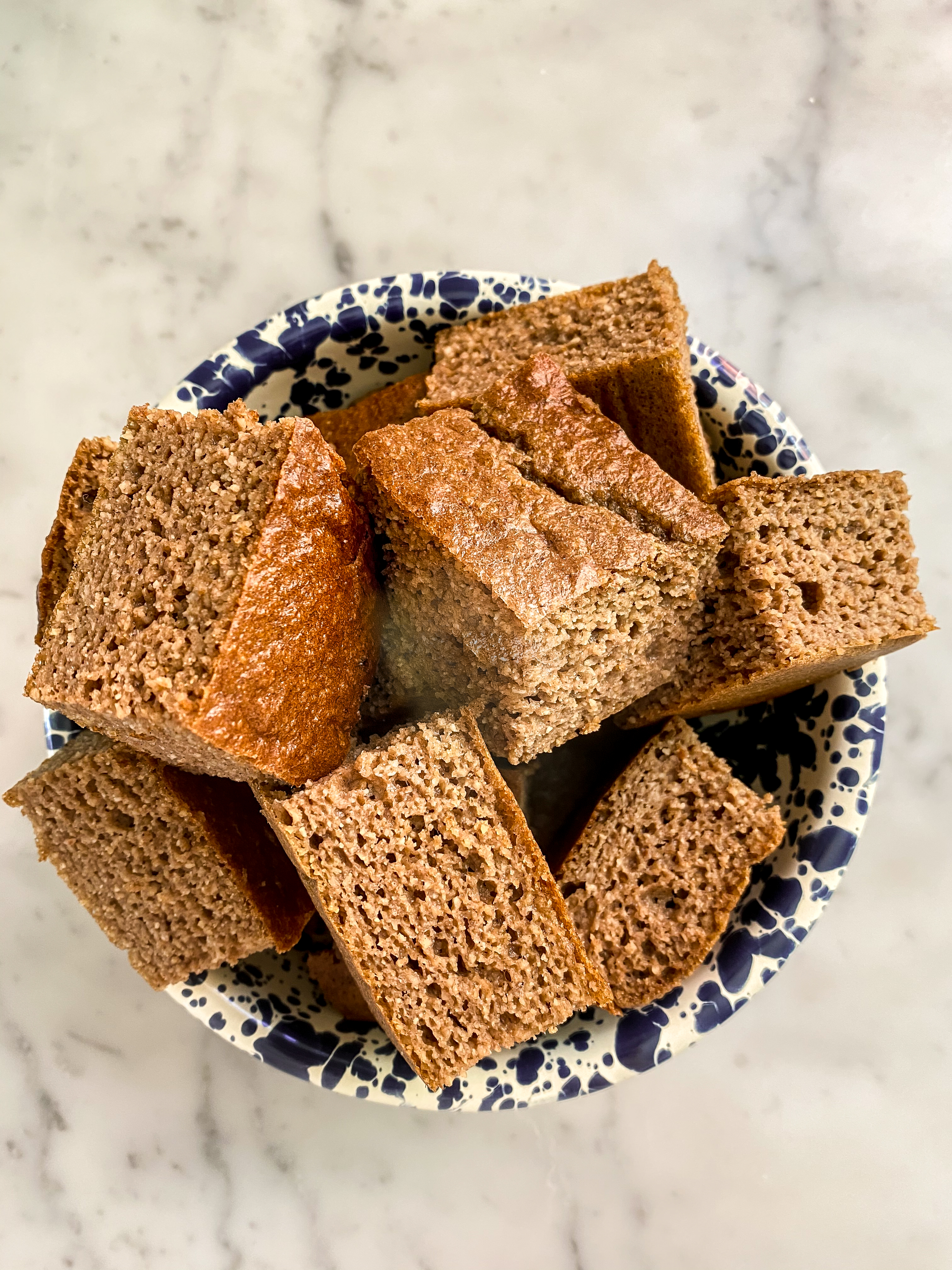 Oat Almond Squares
